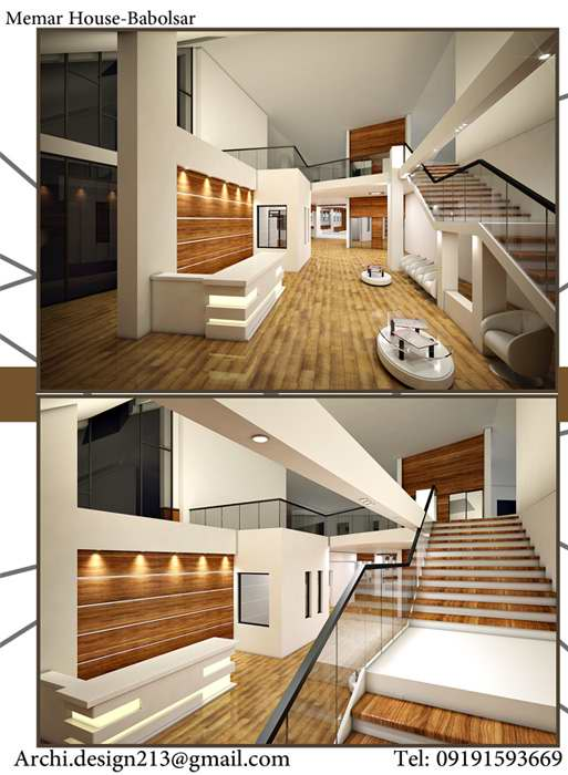طرح معماری خانه ی معمار